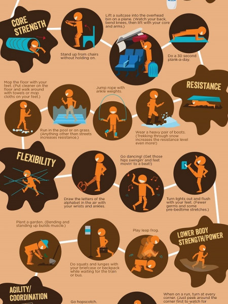30 DIY Moves For The Mud Infographic