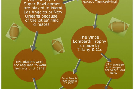 Fun Football Facts & Trivia Infographic