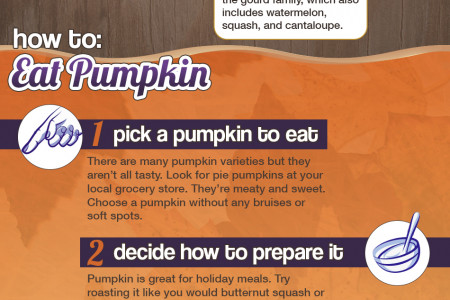 Fun Pumpkin Health Facts For Halloween and Thanksgiving Infographic