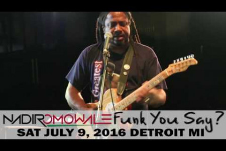 Funk You Say - Nadir Omowale, Detroit MI  Infographic