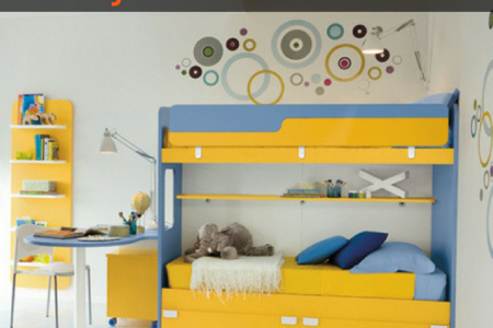 Funky Bunk Beds for Kids Infographic