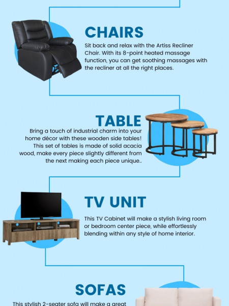 Furniture - HR Sports Infographic