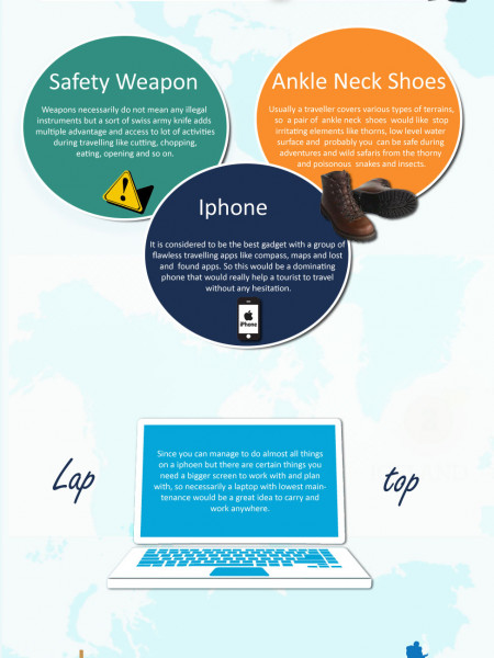 Gadgets for Travelers Infographic