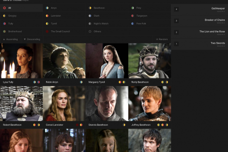 Game  of Thrones Helper Infographic