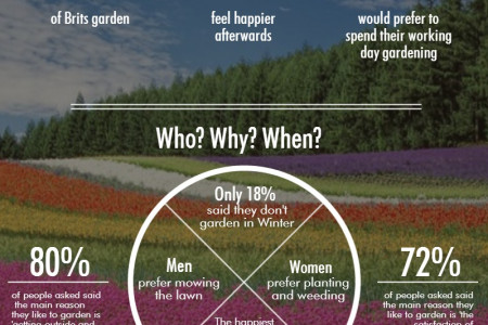 Gardening By Numbers Infographic