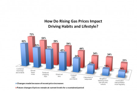 gas prices survey Infographic