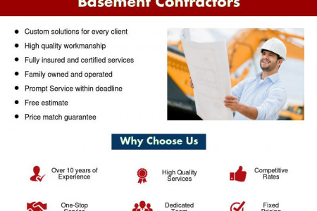 General Excavation & Walkout Basement Contractors Infographic