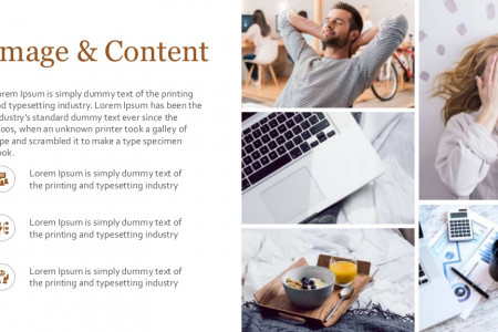 Generic Text Slides Templates | Free Download Infographic
