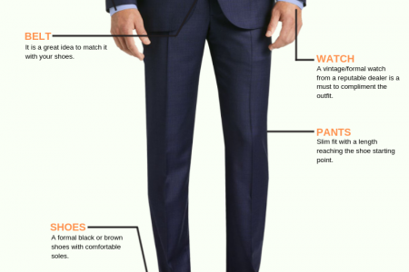 Gentelman Fashion And Accessories Guide Infographic