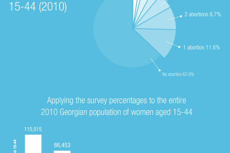 Georgian Abortions by the Numbers Infographic