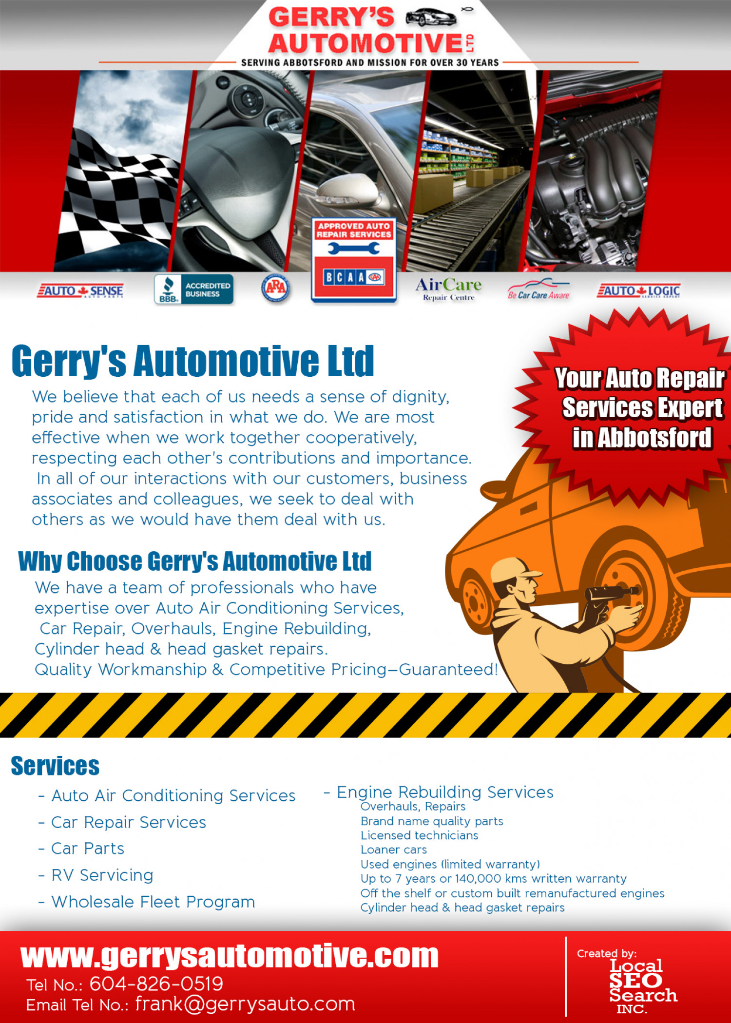 Image Result For Gerrys Automotive Abbotsford Review