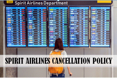 Get Complete information on Spirit Airlines Cancellation Policy Infographic