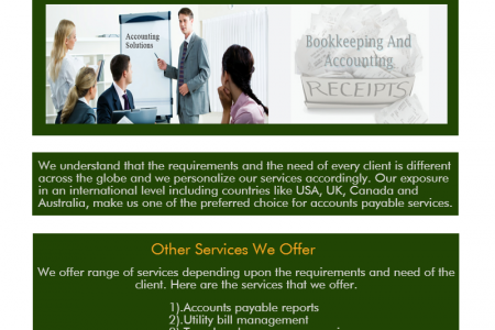 Get Fast Account Payable in SAGE from Trusted accounting firm Infographic