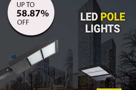 Get More Savings on Utility Bills By LED Pole Lights Infographic