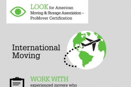 Get Moving: Local, Long Distance, and International Moves  Infographic