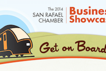 Get on Board! San Rafael Chamber of Commerce Business Showcase Infographic