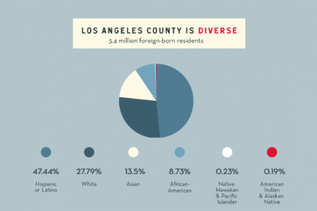 Get Out and Vote, Los Angeles! Infographic