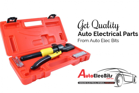 Get Quality Auto Electrical Parts From Auto Elec Bits Infographic