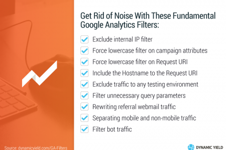 Get Rid of Noise With These Fundamental Google Analytics Filters Infographic