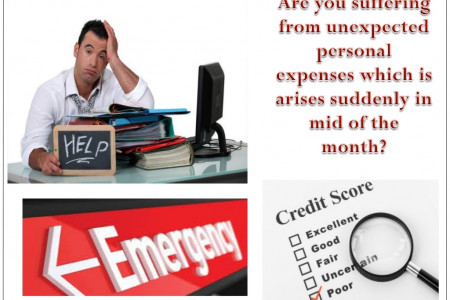 Get Rid Of Sudden Fiscal Crisis Within Short Time OF Period In Easy Manner Infographic