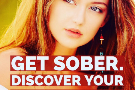 Get Sober. Discover your Real Self Infographic