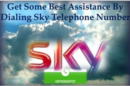 Get Some Best Assistance By Dialing Sky Telephone Number Infographic