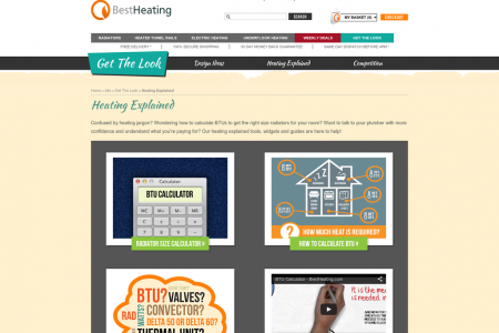Get The Look - Heating Explained Infographic