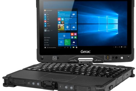 Getac Laptop V110 G4 by GroupMobile Infographic