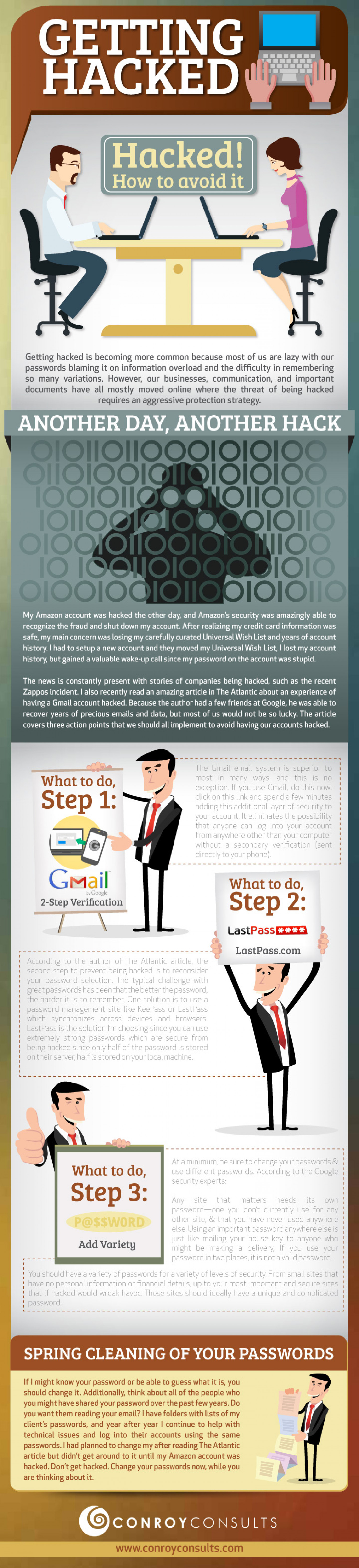 Getting Hacked Infographic by Conroy Consults for Law Firm Website  Infographic