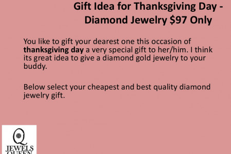 Gift Idea for Thanksgiving Day at Precious at Low Price Infographic