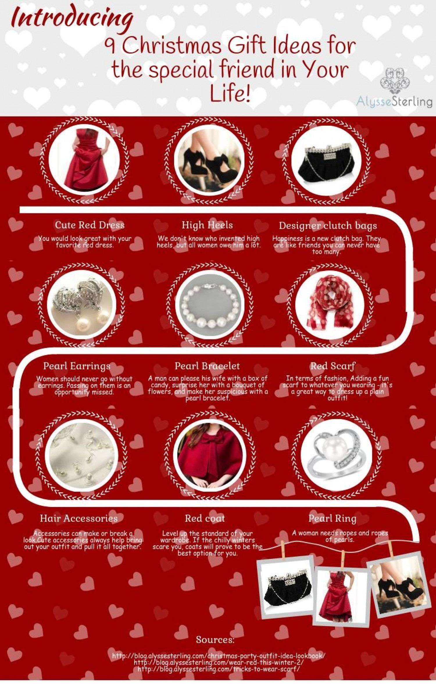 Gift Ideas for the special friend in Your Life! Infographic
