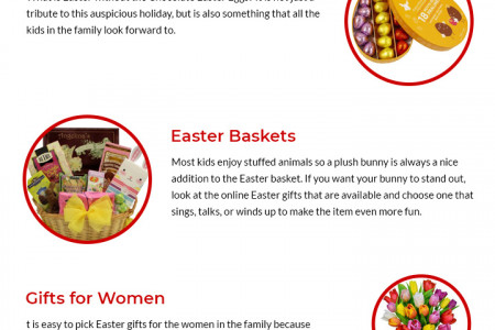 Gift Ideas For This EASTER   Giftsnideas Infographic