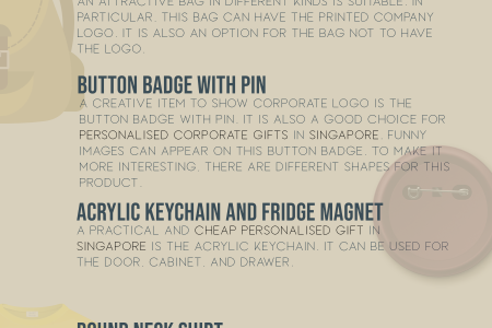 Give Personalised Corporate Gifts in Singapore Infographic