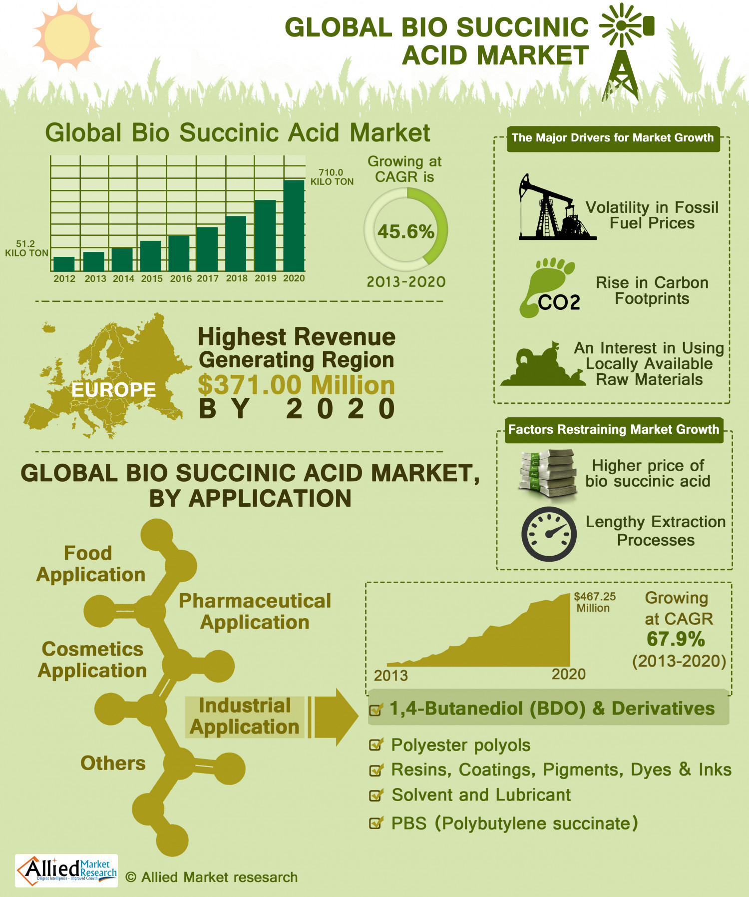 Global Bio Succinic Acid Market Applications And Geography Size Share Trends Analysis Research 0 on marketing on a capacitors