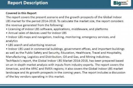Global Indoor Location-based Service (LBS) Market Size, Trend, Analysis, Report, Research, Technology,  Opportunity and Forecast 2014-2018 Infographic