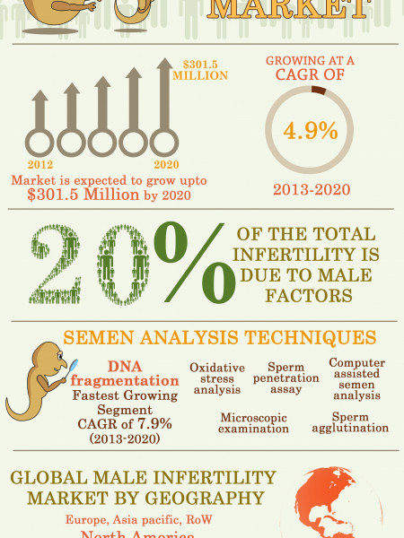 Global Male Infertility Market Infographic
