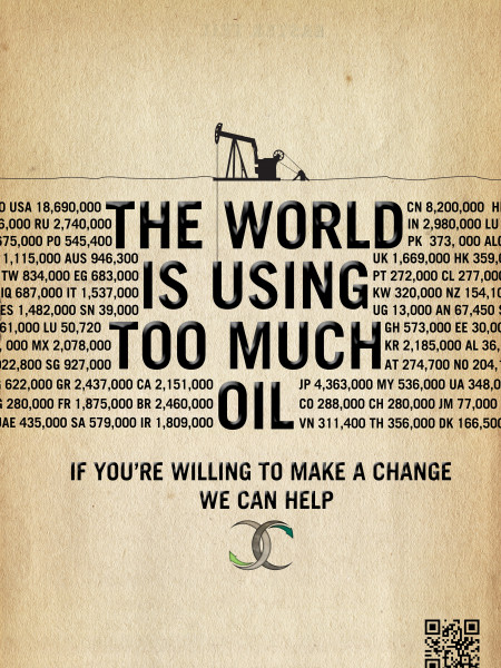 The World Is Using Too Much Oil Infographic