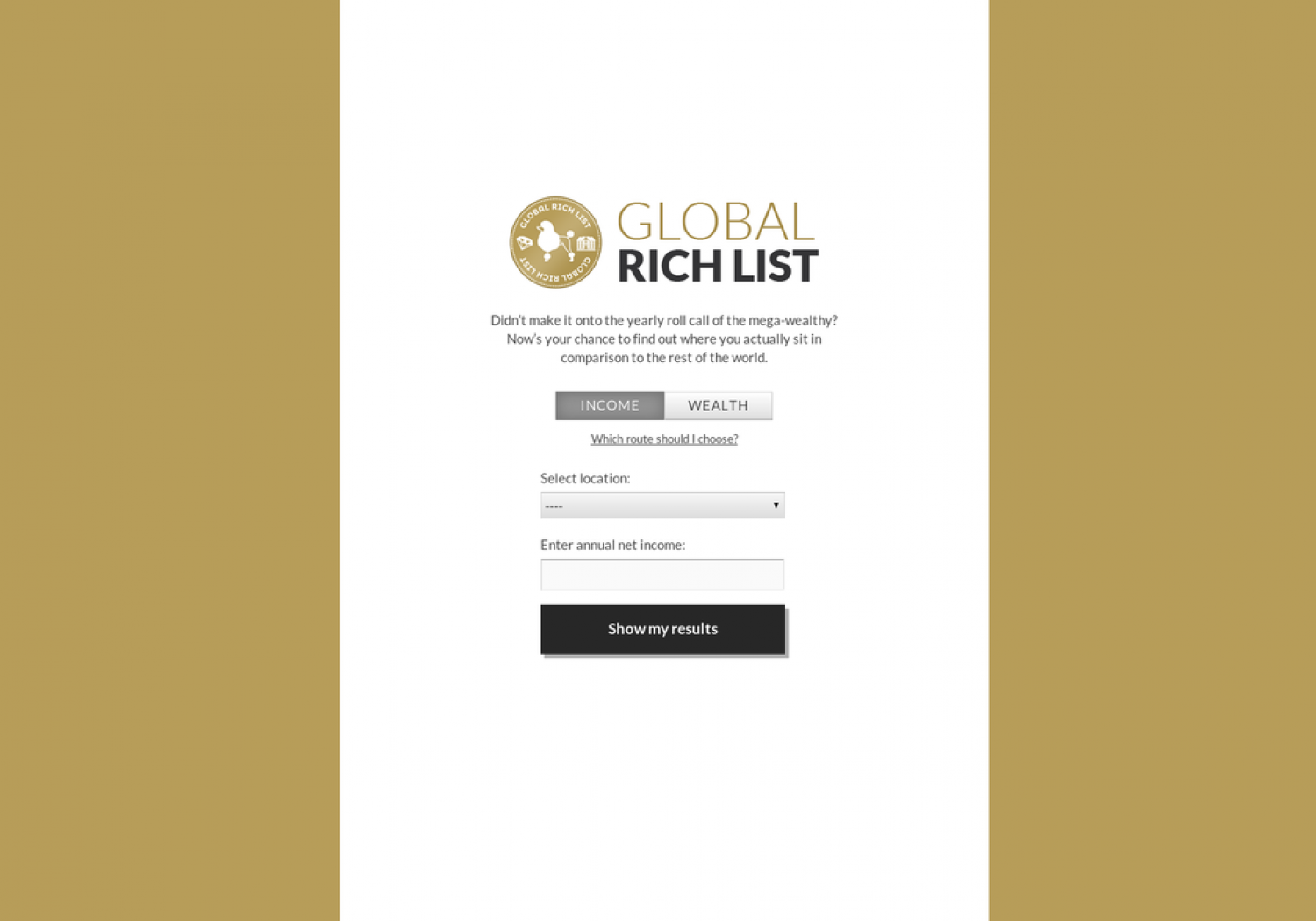 Global Rich List Infographic