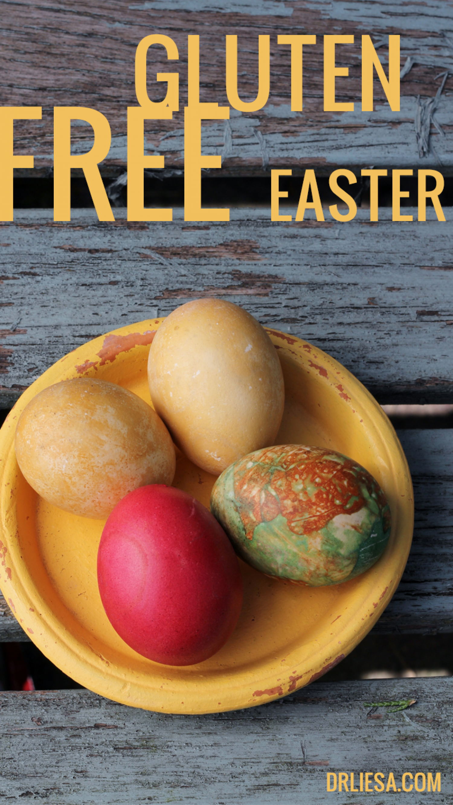Gluten-Free Easter Infographic