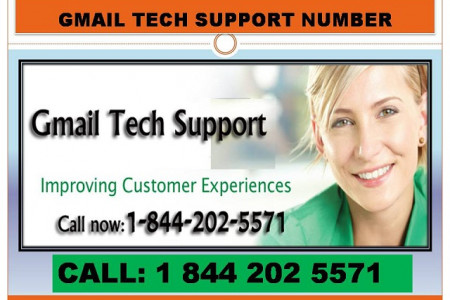 Gmail Technical Support Customer Service Phone Number Infographic