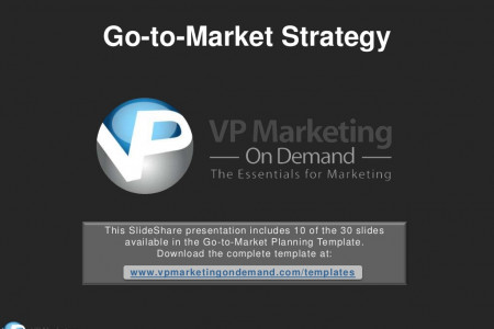 Go To Market Strategy Slideshare Presentation Infographic