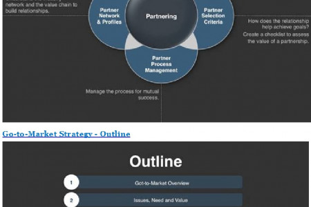 Go To Marketing Strategy  -  Long Term Vision Infographic