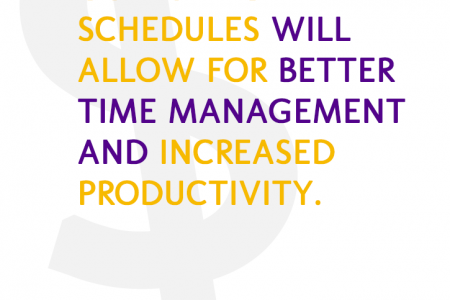 Goals and Time Management Infographic