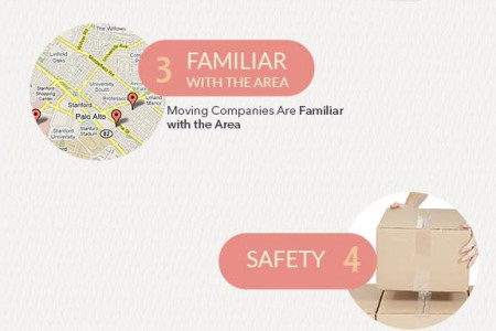 GOOD STATS ABOUT WHY USING A MOVING COMPANY Infographic