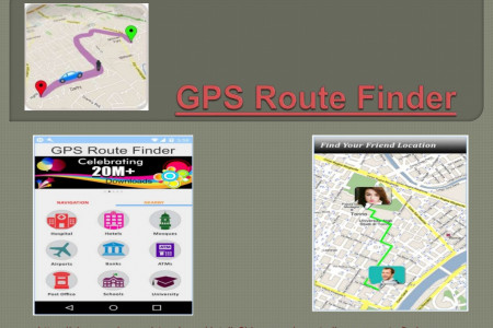 GPS Route Finder Infographic