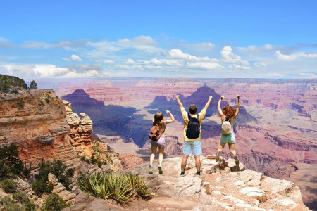 Grand Canyon Tours from Las Vegas Infographic