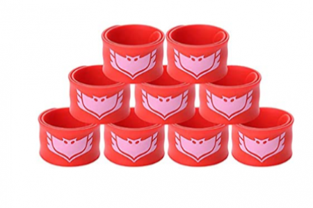 Gream baby Superhero Slap Bracelet Kids Boys & Girls Birthday Party Supplies Favors 9 Pack Product Name- Price: $11.99 Infographic