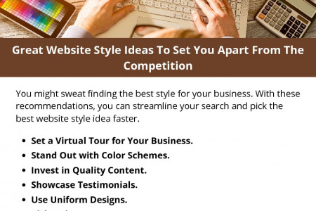 Great Website Style Ideas To Set You Apart From The Competition Infographic