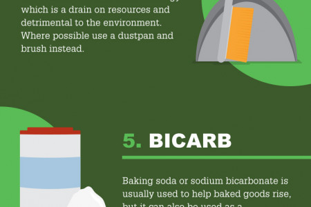 Green Clean Infographic