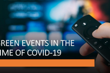GREEN EVENTS IN THE TIME OF COVID-19 Infographic